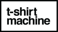 t-shirt machine - logo black 280x156