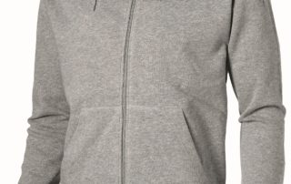 Corporate Clothing - Zipped Jersey Hoodie