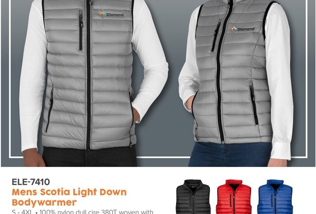 Body Warmer - Scotia Light Down Body warmer