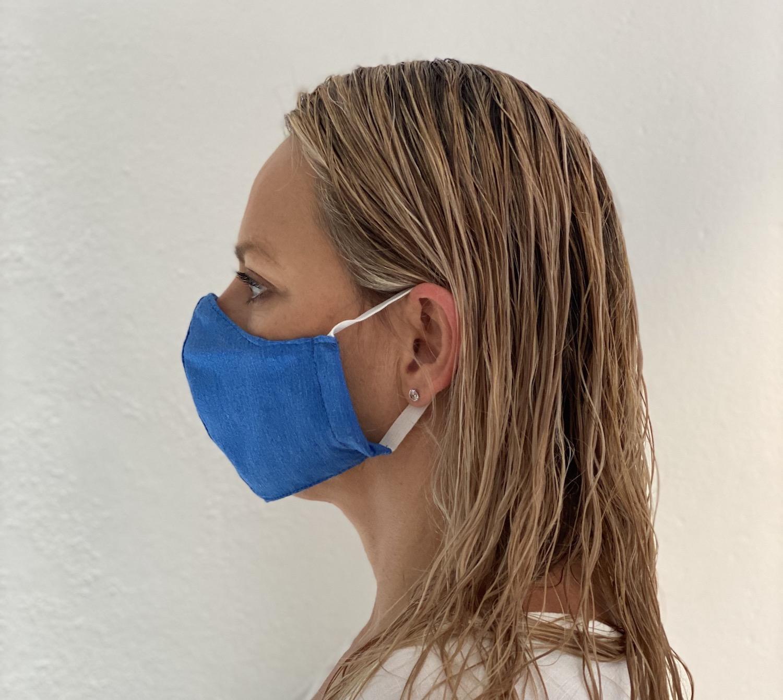 masks covid19 coronavirus masks Left Blue