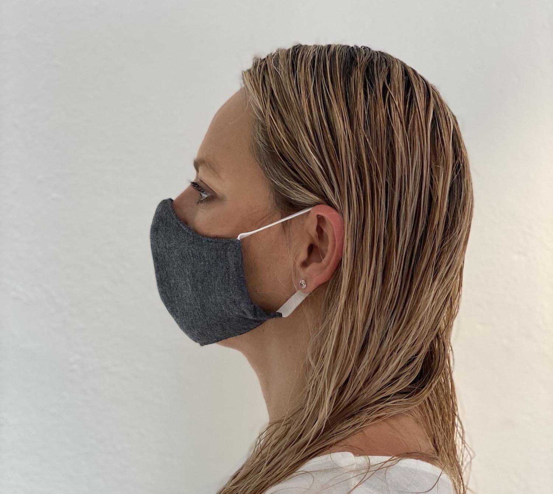 masks covid19 coronavirus masks Left Grey